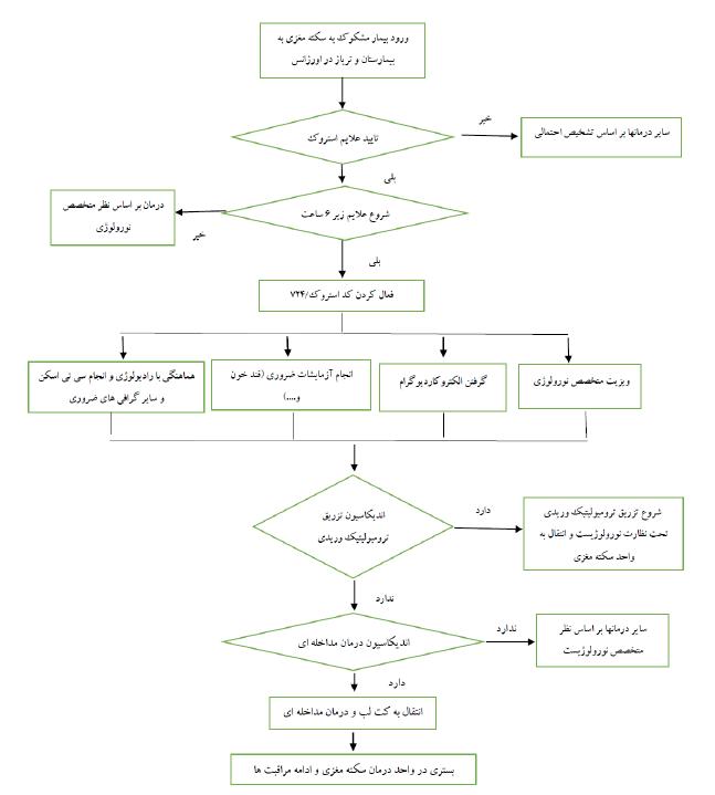 کتابچه مدیریت درمان سکته حاد مغزی