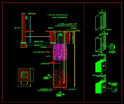 دانلود نقشه اتوکد چاه ارت برق و اتصال به هم بندی ساختمان